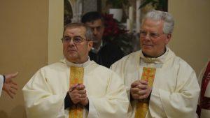 Don Giuseppe Ganassin e don Pietro Benozzi