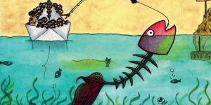 particolare Rivogliono il loro pesce