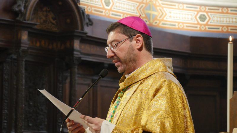 Il Vescovo di Gubbio, Luciano Paolucci Bedini