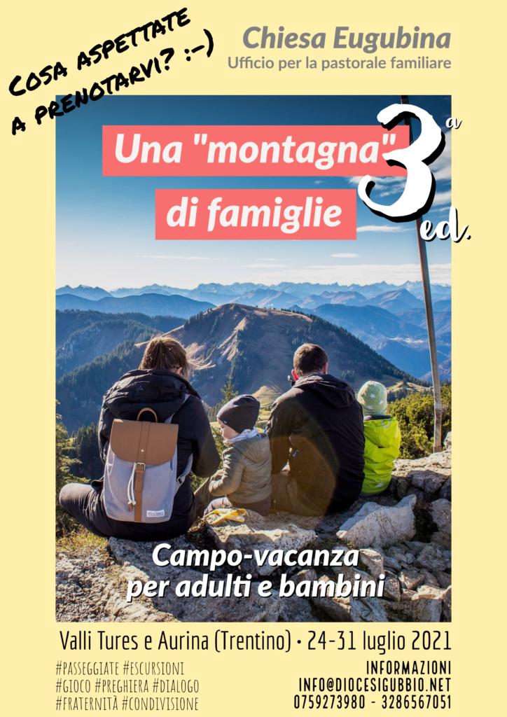 Una montagna di famiglie 2021